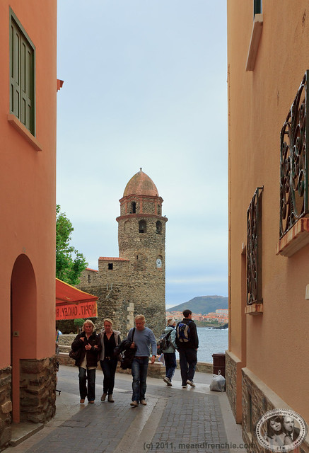 Church Belltower Of Collioure