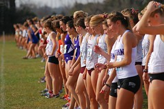 On the Line (GRey_WoLFie) Tags: girls college sports runners athletes xc nikkor 2009 fit compete greywolf d80