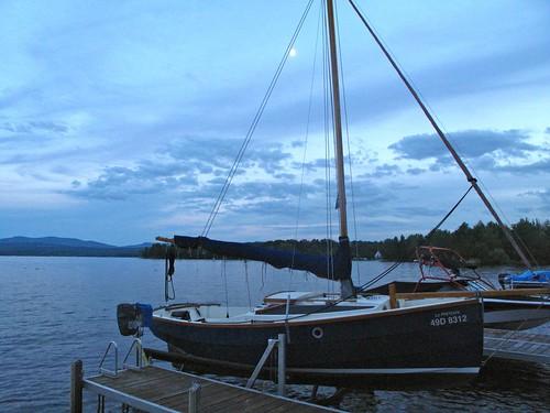 lake sailboat weekend lacbrome
