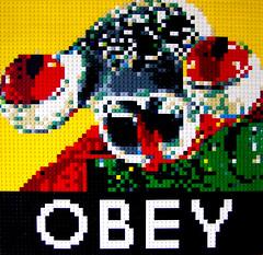 Comrade Squid (Dave Shaddix) Tags: propaganda mosaic obey squidman yearofthesquid