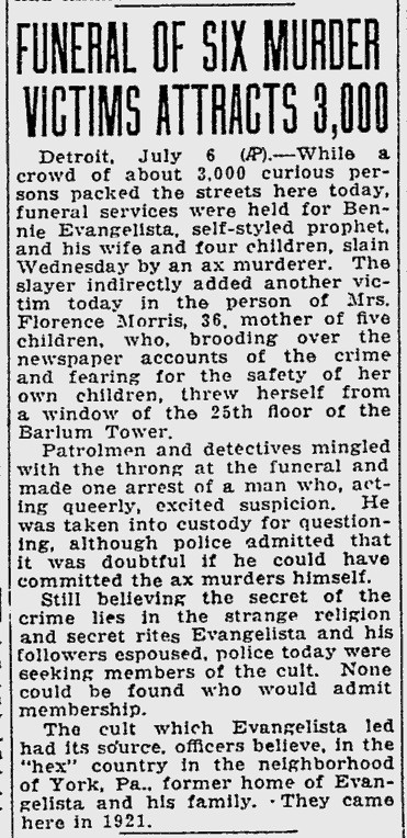 The Unsolved Murder
