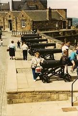 Scotland - Edinburgh Castle (scb.mypics) Tags: castle scotland edinburgh edinburghcastle cannon edinborough scottishhighlands edinboroughcastle touristdestination
