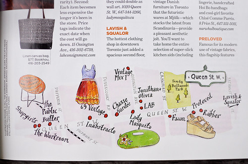 Lucky Magazine : August 2011