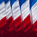 French Flag Abstract