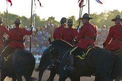 The Musical Ride (Tawaw) Tags: horses canada flag ottawa police rcmp equestrian stetson mounties mountedpolice royalcanadianmountedpolice policehorses musicalride redserge canadianpolicecollege