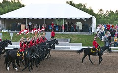 The Ride Departs (Tawaw) Tags: horses canada flag ottawa police rcmp equestrian stetson mounties mountedpolice royalcanadianmountedpolice policehorses musicalride redserge canadianpolicecollege