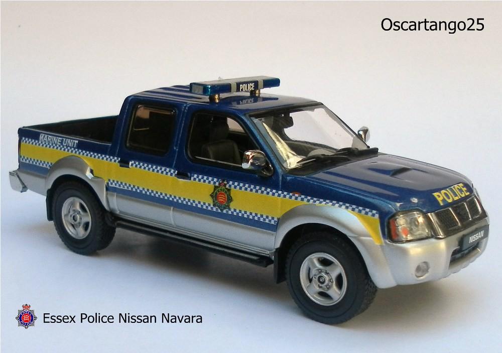 Essex Police Marine Unit Nissan Navara