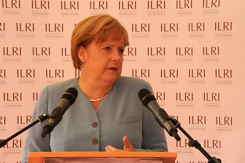 Madam Chancellor Merkel visits ILRI Nairobi Campus 11 July 2011