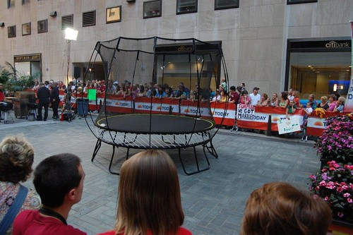 Springfree Trampoline on the Today Show