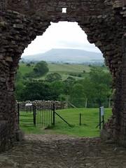 Medieval Brough Castle
