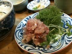 芝大門 和可奈寿司 あじ丼