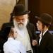 Pai e filhos judeus ortodoxos