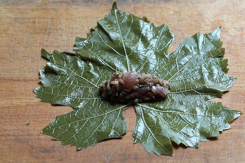 Stuffed Vine Leaves