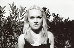 (EYLUL ASLAN) Tags: light shadow summer portrait bw love film beautiful model nikon july blonde austrian 2011 marahaas