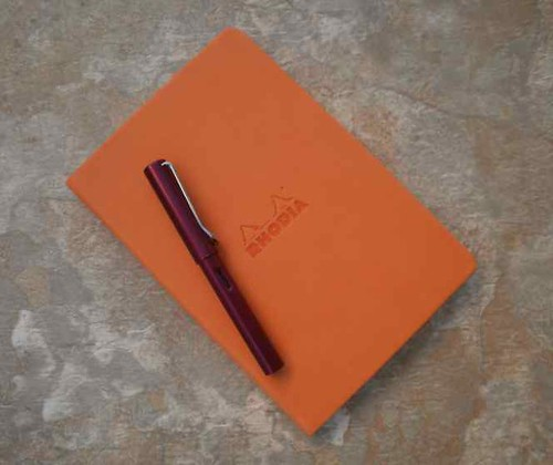 Large Rhodia Dot Grid Webnotebook