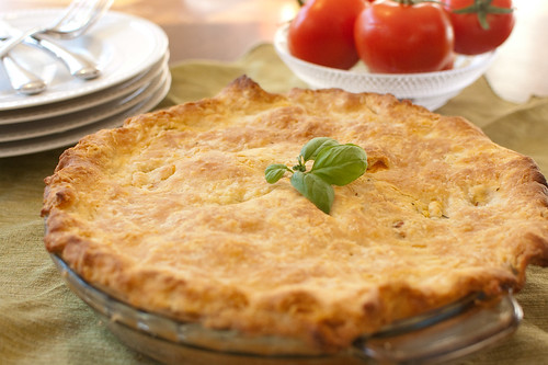 tomato and corn pie makes 1 9 inch pie for