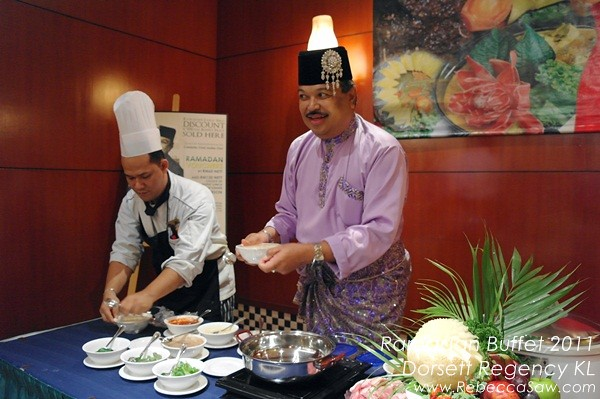 Dorsett Regency KL - Ramadan buffet - Chef Jaafar Onn