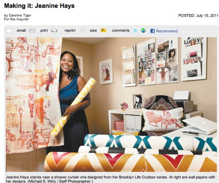 AphroChic In The Philadelphia Inquirer