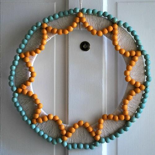 WoodBeadSummerWreath
