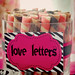 Dessert Table love letters
