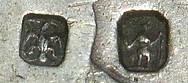 Theophilus Bradbury hallmarks closeup