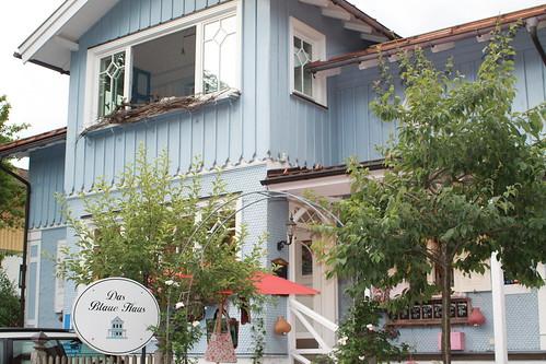 Café Blaues Haus... by sewingamelie by liebesgut