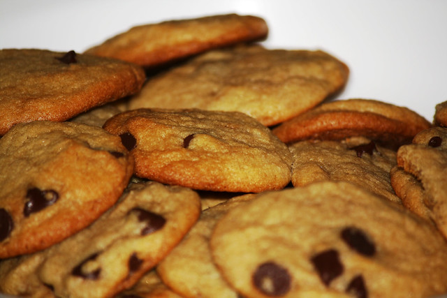 Day 319 - Mountain of Chocolate Chip Cookies