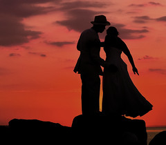 They do! (wowography.com) Tags: park wedding sunset shadow red summer sky people ny beach water colors silhouette yellow skyline groom bride suffolk nikon flickr dof dusk longisland handheld boardwalk sunkenmeadow nmc lightroom smithtown hss theydo 2011 18200mm d90 wowography 44752 longislandphoto tomreese iwasjustwalkingby tr11787 notsamesex weddingisstartingoutontherocks boardwalkreception wowographycom