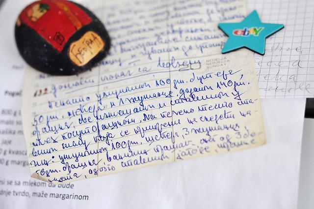 tart kajsije rukopis