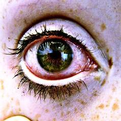 INFECTION (Memento Morieris) Tags: red green walking dead blood eyes zombie rage hazel bloodshot bloody pupil infection