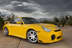 Dramatic Skies (Chris Heising) Tags: arizona yellow clouds speed canon desert tucson 911 fast german porsche carrera supercharged mountans