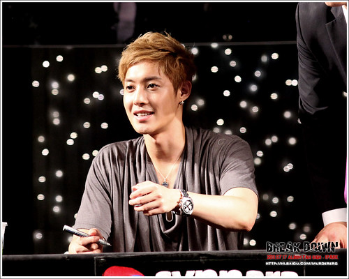 Kim Hyun Joong Fan Signing Event at iPark in Seoul  15