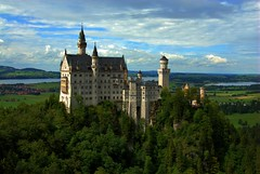 Neuschwanstein, Bavaria, Germany (EricK_1968) Tags: panorama tower castle germany bavaria woods rocks neuschwanstein ludwig hdr schwanstein kasteel fssen wow1 wow2 lodewijk beieren aboveandbeyondlevel1