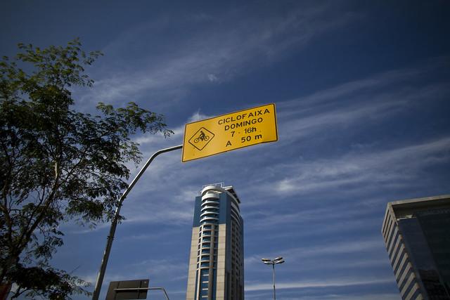 Sao Paolo Ciclofaixa
