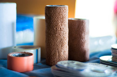 (Jimmy Jordan) Tags: africa kenya medical tape rolls clinic bandage bandages