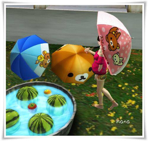 Umbrella - [rirrakuma pink] v0.02