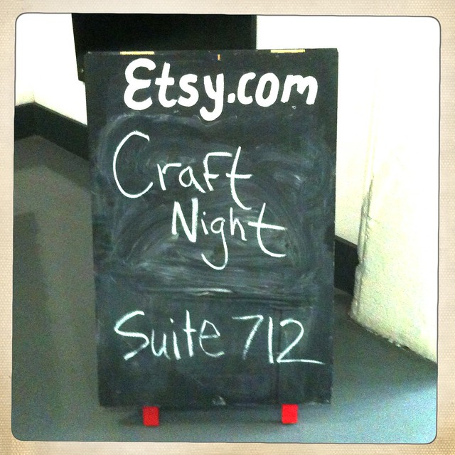 Etsy Craft Night