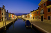 Burano at Night (andreaskoeberl) Tags: city longexposure venice italy water architecture night lights boat canal nikon wideangle bluehour burano 1116 d7000 tokina1116 nikond7000 andreaskoeberl