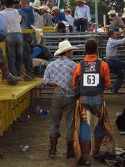 contestant area (jdeanphoto) Tags: ohio man men cowboy fair bull cowboyhat bullriding chaps stud rugged studs hilliard cowboyup franklincounty franklincountyfair cowboydown