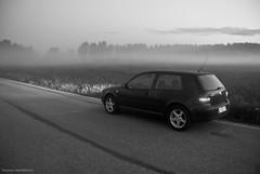 Foggy Drive (iTuomas) Tags: golf volkswagen midsummer kit nikond80