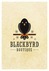 Blackbyrd Boutique (Paul N Grech) Tags: bird illustration photoshop logo design graphicdesign boutique illustrator paulgrech