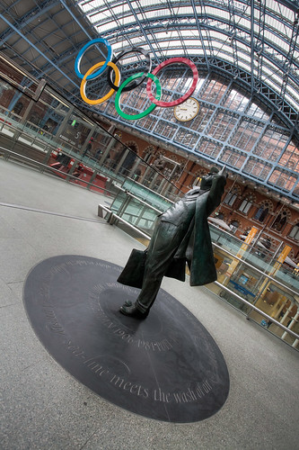 528/1000 - St Pancras Station by Mark Carline
