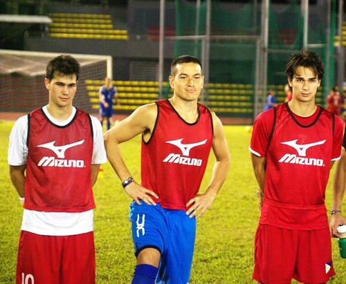 Azkals during Practice
