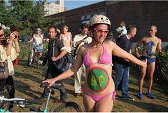 NYC World Naked Bike Ride 2
