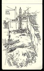 Estaqueamento (VII) (daniloz) Tags: moleskine idea sketch croquis construção zarvos daniloz