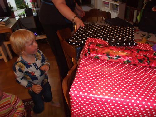 Paketdags och firande i Lund