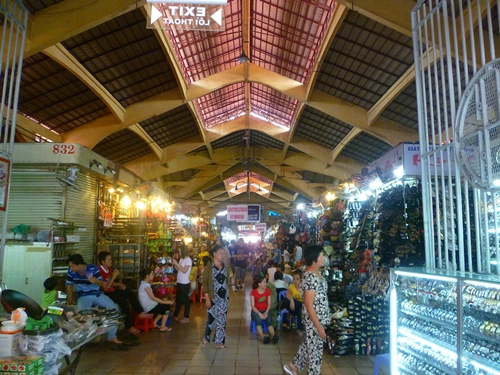 Ben Tanh market - Saigon