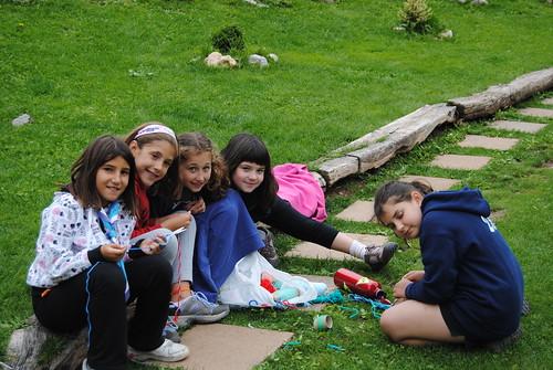 Colònies d'estiu de l'Esplai Natzaret a Castellar de n'Hug