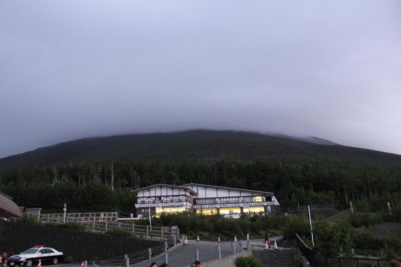 五合目からの富士山