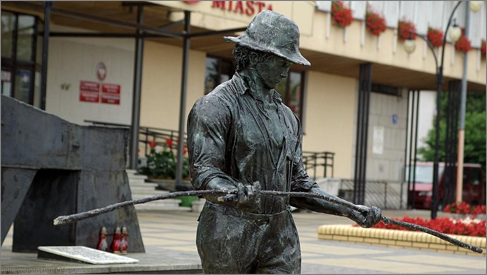 Biłgoraj rzeźba Sztukmistrz z Lublina
